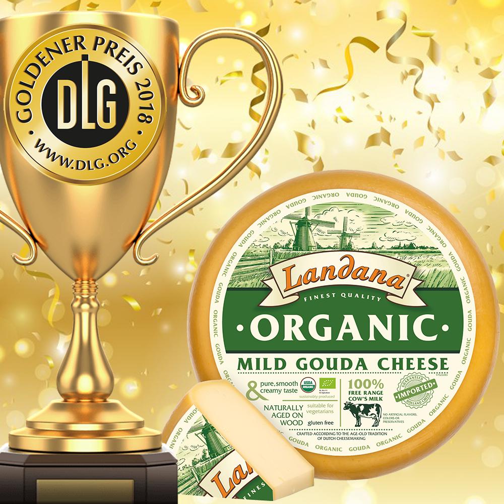 Landana Organic MILD awarded with GOLD!