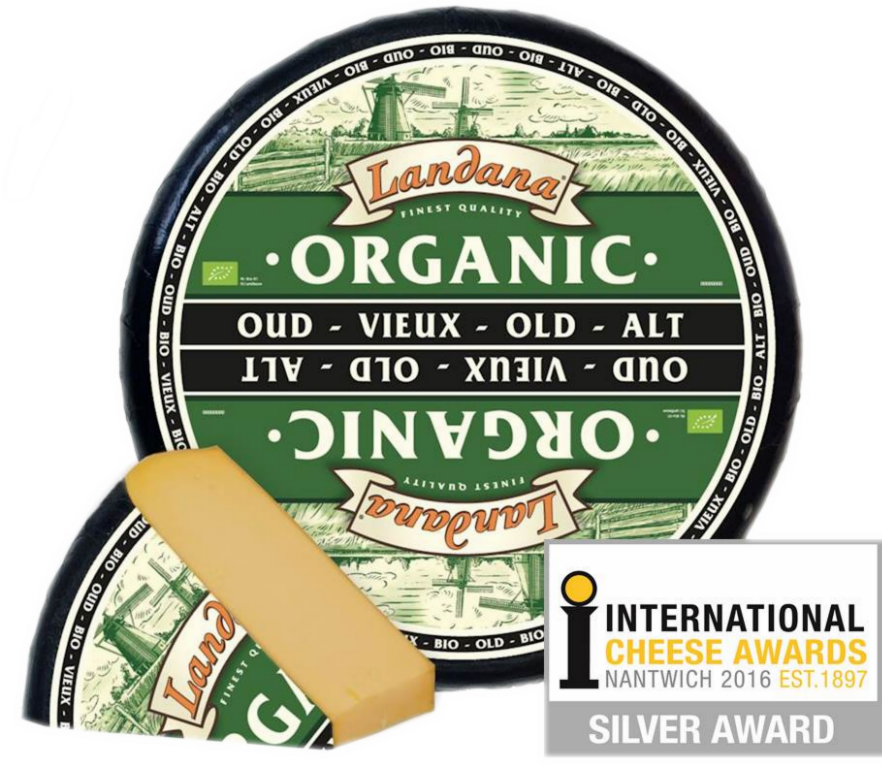Landana organic old specialty cheese
