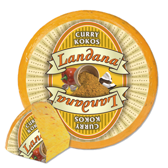 Landana Käse CURRY-KOKOS