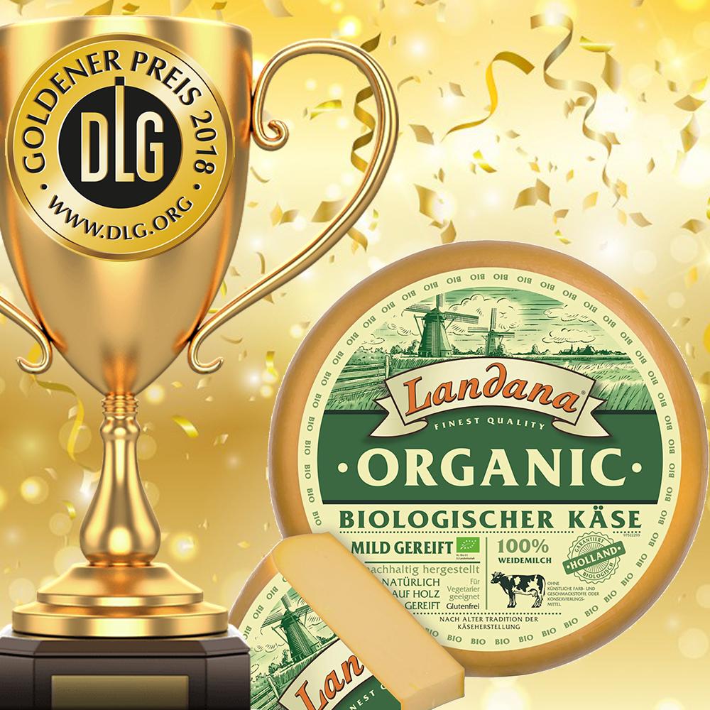 Landana Organic mit DLG-Gold