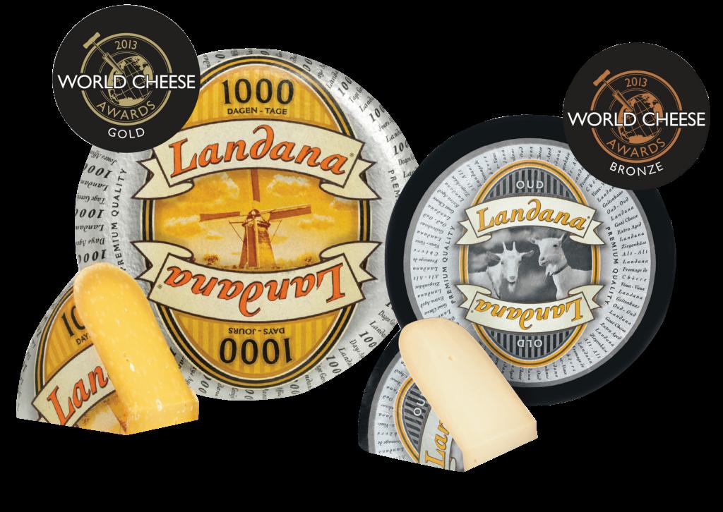 Landana 1000 TAGE KÄse gewinnt Gold award