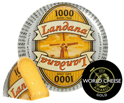 Landana 1000 DAYS wins GOLD AWARDS at world cheese awards