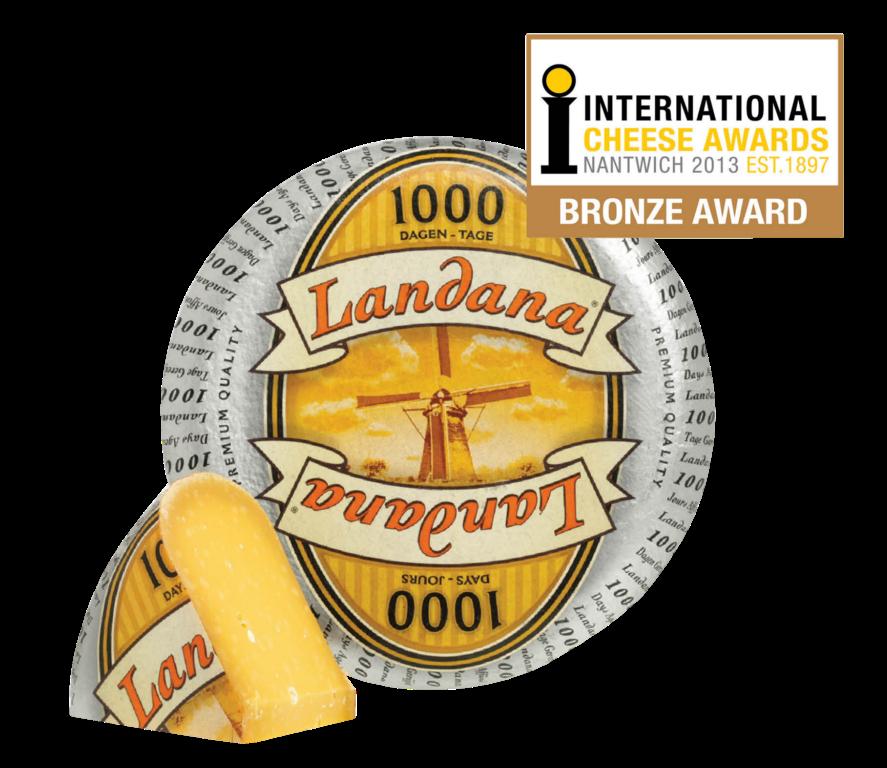 Landana 1000 DAGEN in top 3 beste Hollandse kaas
