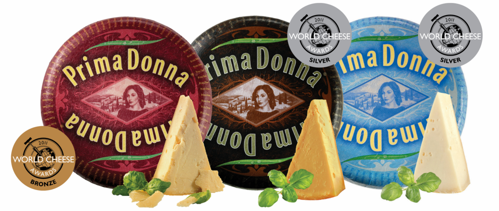Prima Donna specialty cheeses win awards at world cheese awards