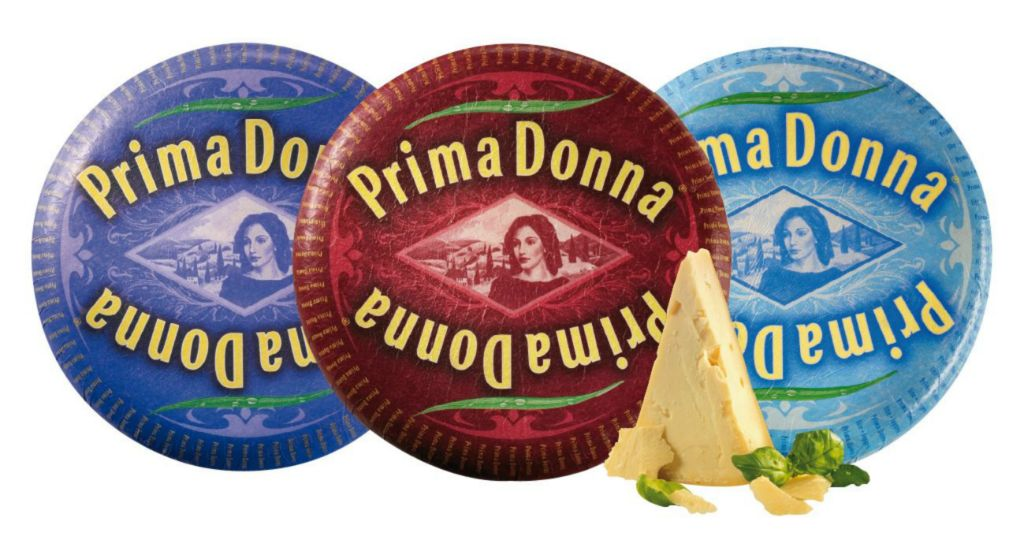 Prima Donna fromage sans lactose ni gluten