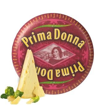 Novo visual Prima Donna queijo